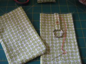 Bag Holder in Another Fabric