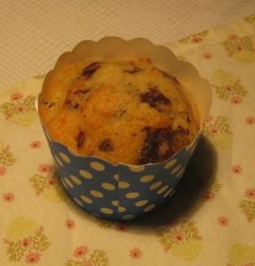 Banana Choc-chip Muffin-cake